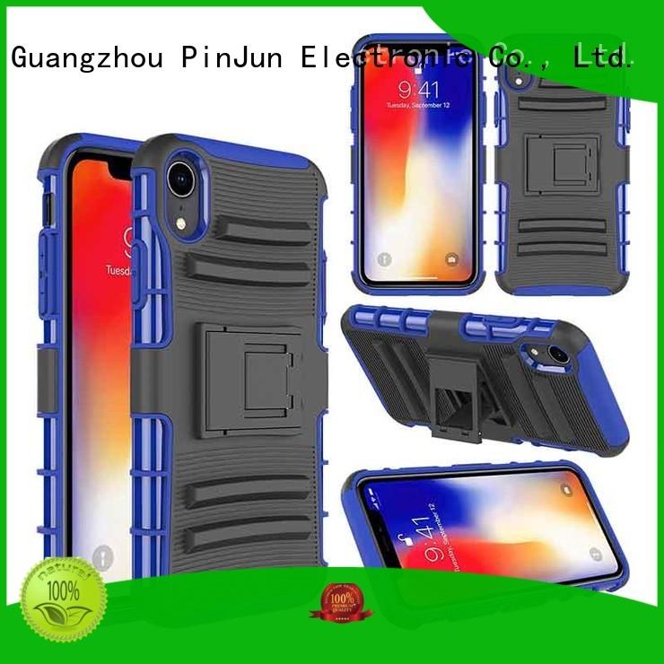 Hot custom iphone x cover bling PinJun Electronic Brand