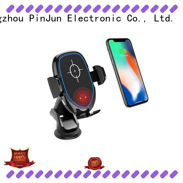 PinJun Electronic convenience magnetic wireless charger qi phone