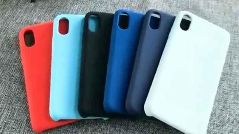 TPU Material Liquid Silicone Phone Case
