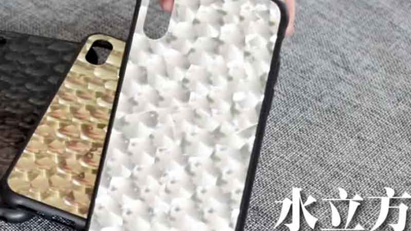 iPhone X Tempered Glass Phone Case