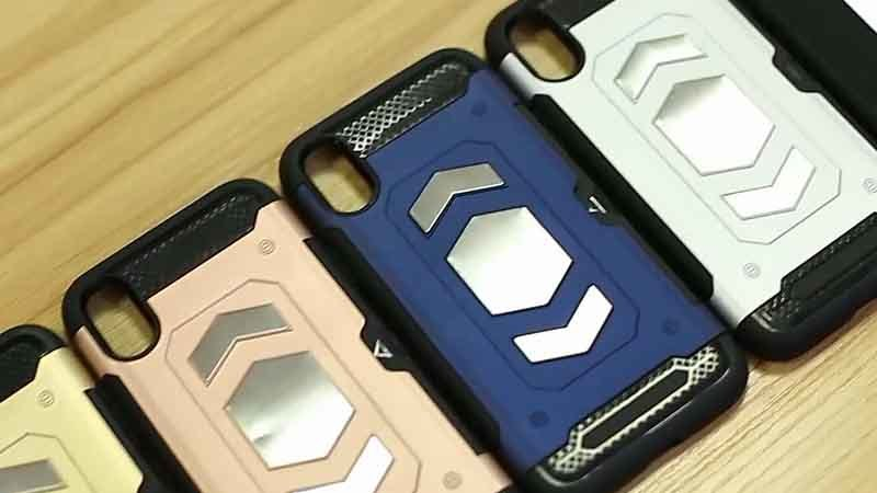 Shockproof Armor Case for iPhone X