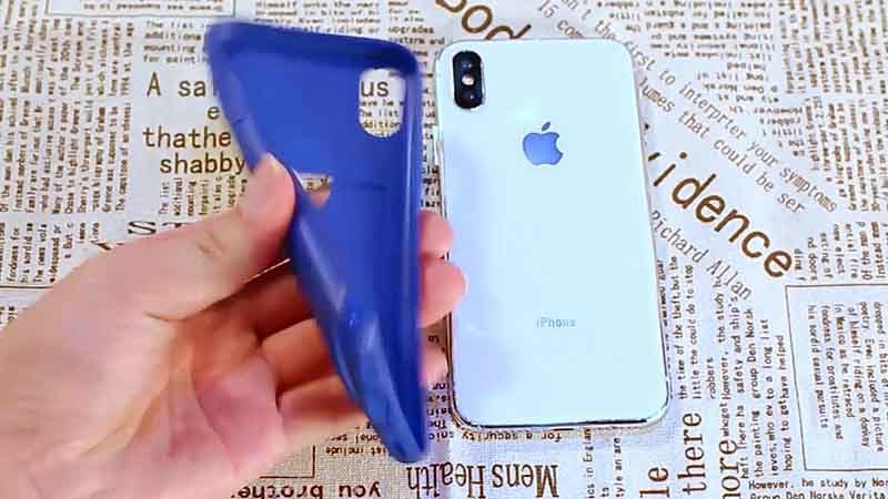 iPhone XR Soft Tpu Card Slot Wallet Cover Case