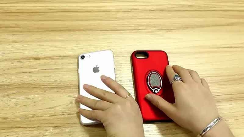 Golf Bracket Car Magnetic Mobile Phone Case for iPhone 8
