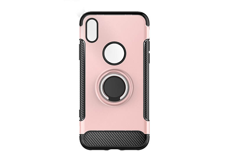 PinJun Electronic-Phone Case for iPhone 678 PC+TPU With Metal Finder Ring Holder-6