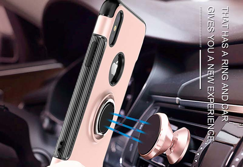 PinJun Electronic-Phone Case for iPhone 678 PC+TPU With Metal Finder Ring Holder-8