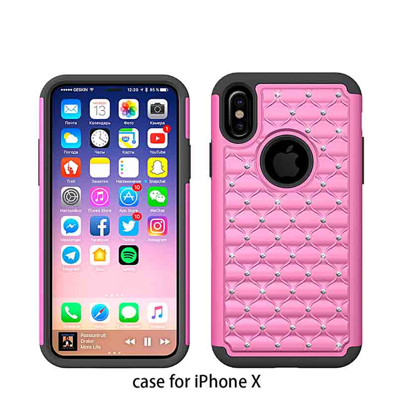 PinJin Electronic airbag bespoke iphone cases manufacturer for mobile phone-4