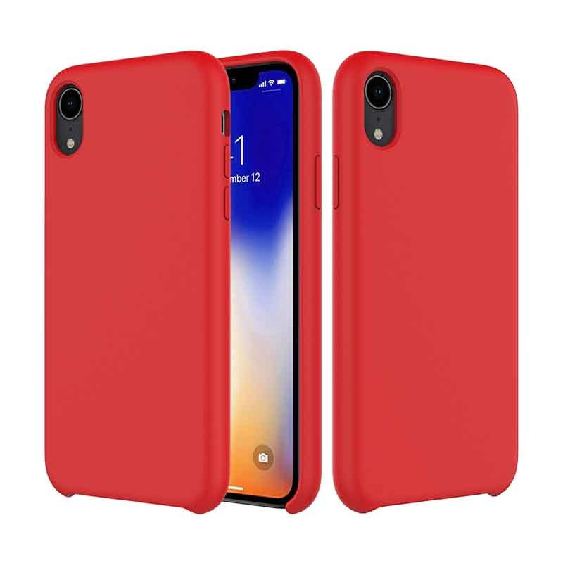 iPhone XR Liquid Silicone Phone Case Shockproof Cell Case GJH00005
