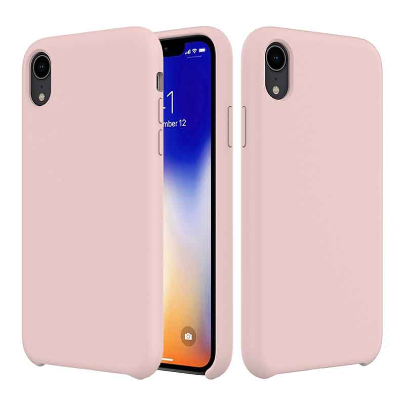 PinJun Electronic-iPhone XR Liquid Silicone Phone Case Shockproof Cell Case-4