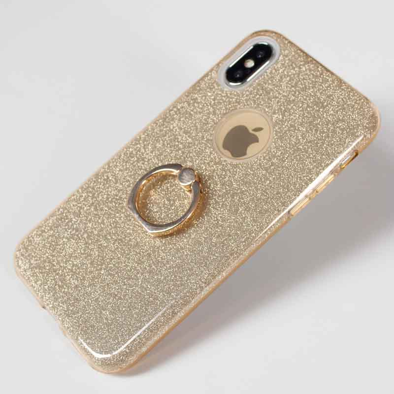PinJun Electronic-3 In 1 Hybrid Bling Shining Glitter Phone Cases , Soft Tpu Pp Mobile Back-3