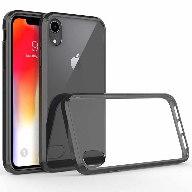 High Clear TPU + Acrylic Material Phone Case for iPhone XS