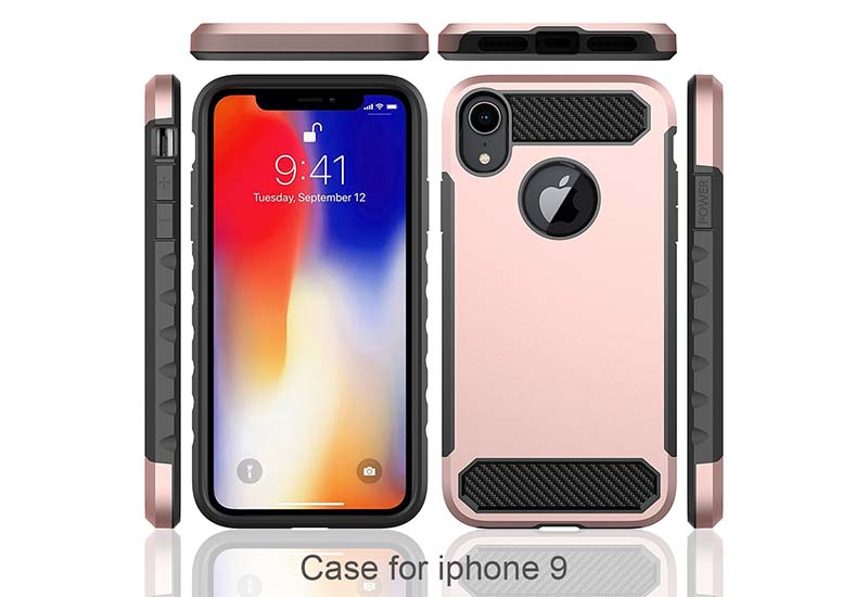 PinJun Electronic-Phone Case Carbon Fiber TPU Mobile Case Cover For iPhone XS-7