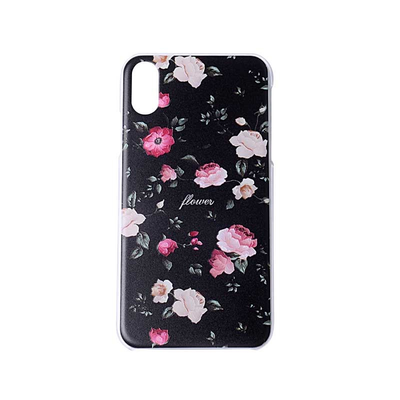 Embossed Mobile Phone Case 3D Custom Printing Hard PC Cover For iPhone XR