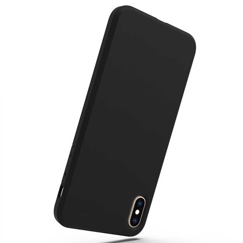 For iPhone XS Max 1.5mm Matt TPU Shockproof Phone Case GJH00006