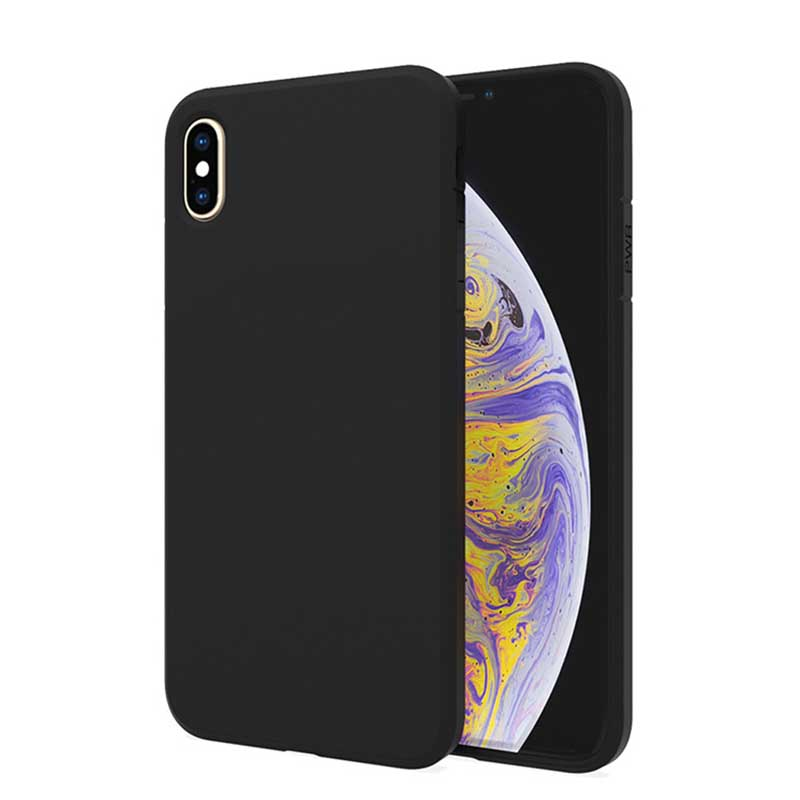 PinJun Electronic-Best iPhone XS Max 15mm Matt TPU Shockproof Phone Case