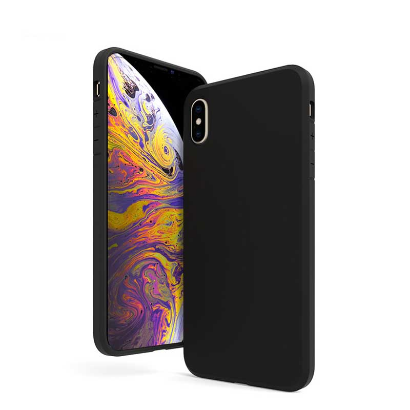 PinJun Electronic-Best iPhone XS Max 15mm Matt TPU Shockproof Phone Case-1