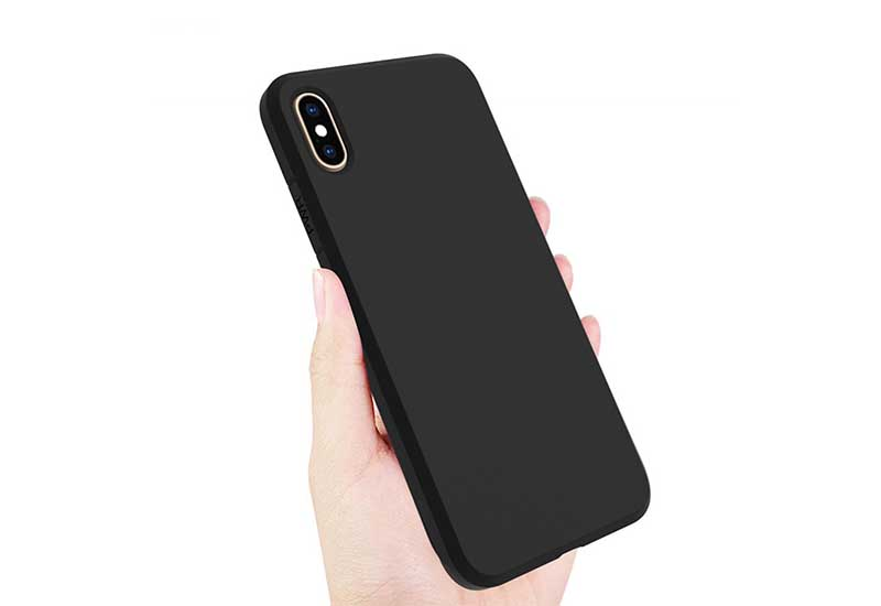 PinJun Electronic-Best iPhone XS Max 15mm Matt TPU Shockproof Phone Case-11