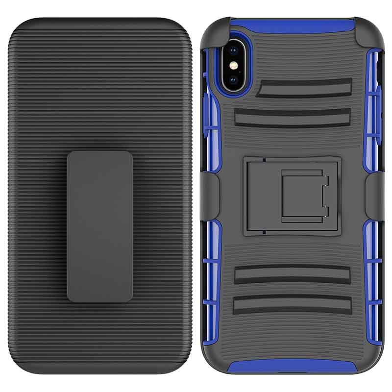 PinJun Electronic-Heavy Duty Holster Combo Belt Clip Case Case For iPhone XS MAX-4