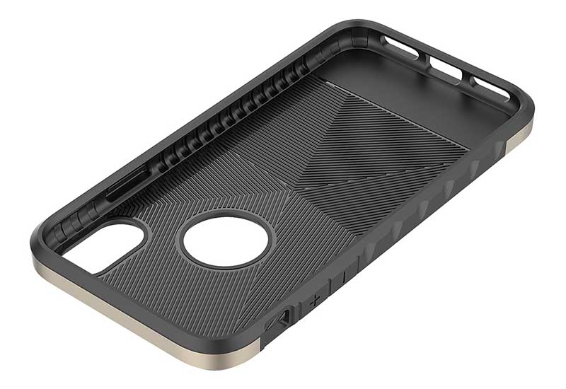 PinJun Electronic-Shockproof Dual Layer Tpu Pc Carbon Fiber Texture Cell Phone Cover-8
