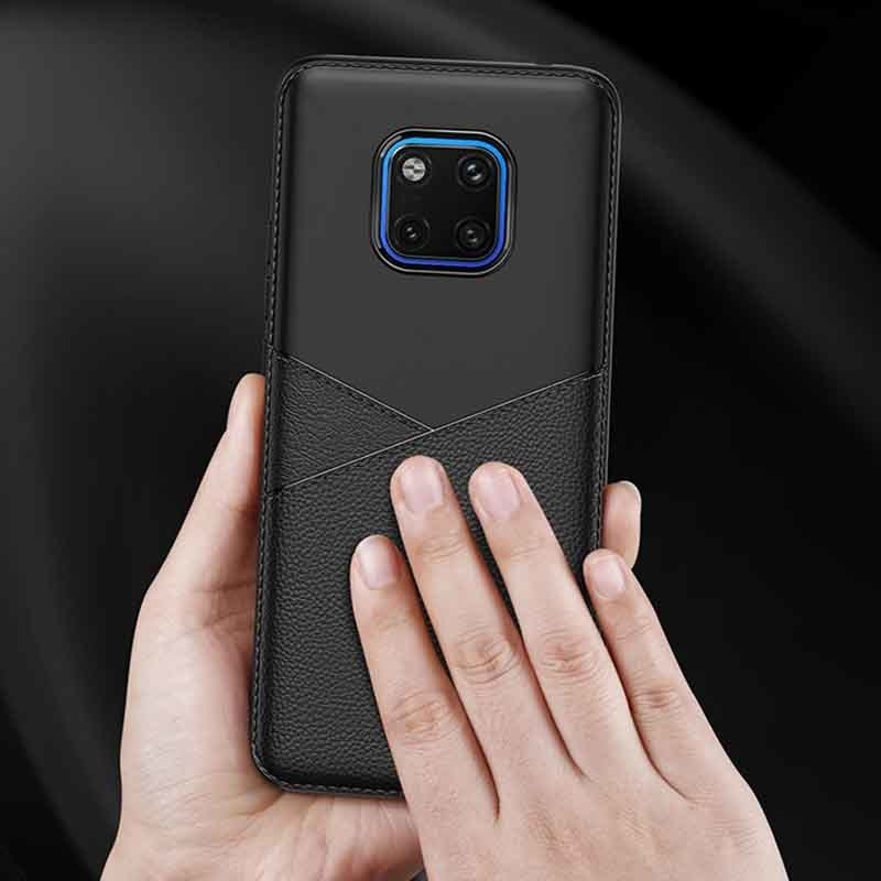 Huawei Mate 20 Pro Cover PU Leather Phone Case With Business Style GJZ00006