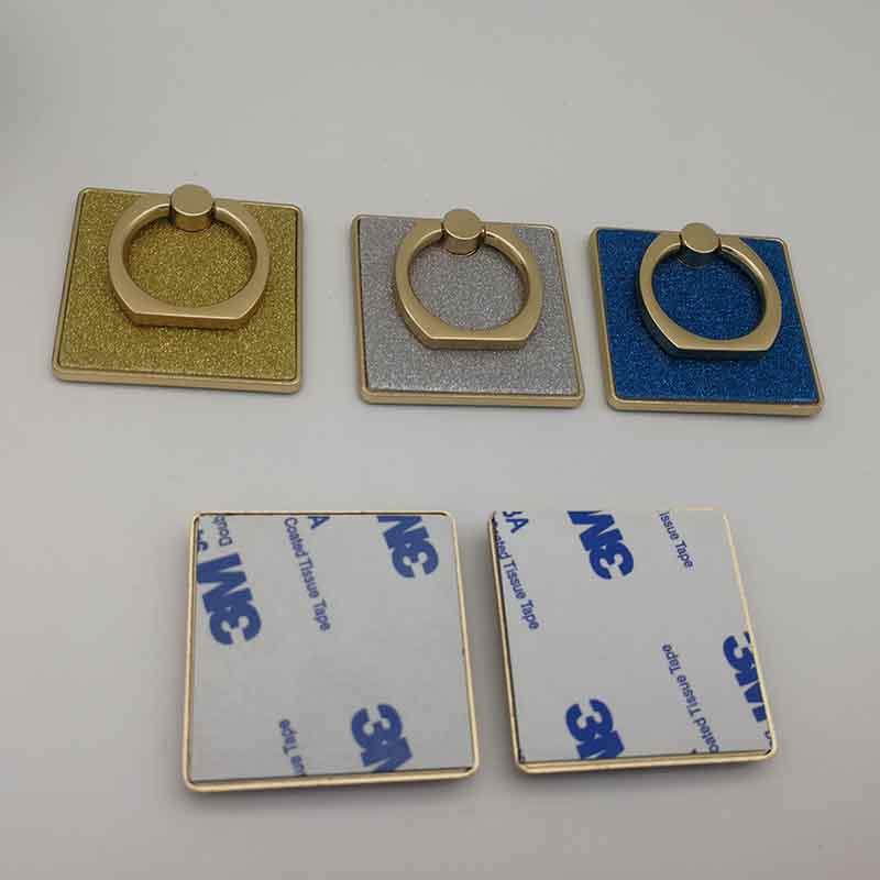 PinJun Electronic-Iphone Ring Holder, Zinc Alloy Square Finger Ring Stand Metal Kickstand-1
