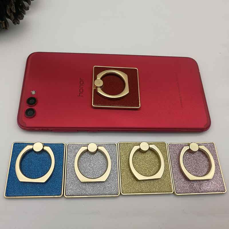 Zinc Alloy Square Finger Ring Stand Metal Kickstand Phone Holder Grip GJA30001