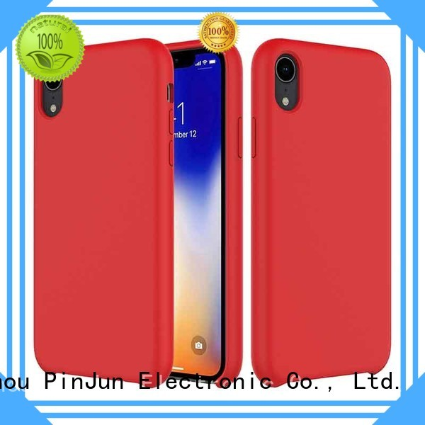 custom iphone x cover cell rhinestone PinJun Electronic Brand company