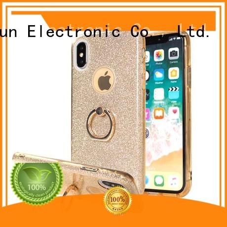 PinJun Electronic rhinestone pineapple phone case supplier for mobile phone