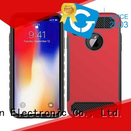 PinJun Electronic Brand soft beautiful back iphone x case