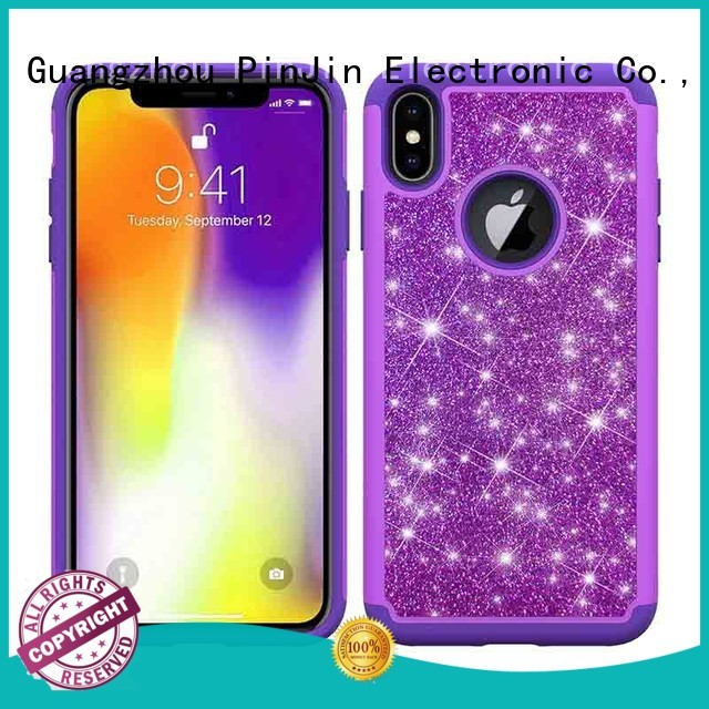 PinJin Electronic combo custom iphone xs max case degree for mobile phone