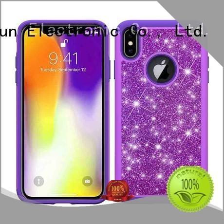 lady dual carbon iphone xs max case PinJun Electronic Brand