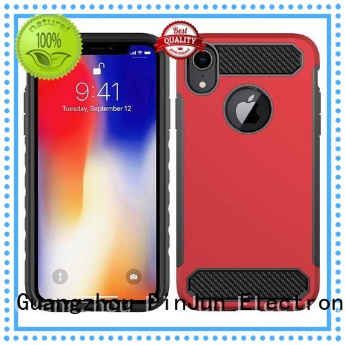 Quality PinJun Electronic Brand holder armor iphone x case