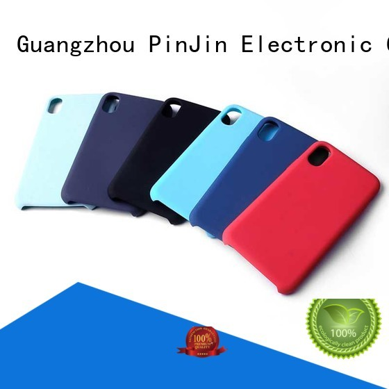 PinJin Electronic different phone case logo tpu for iphone