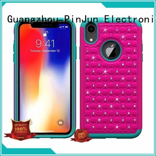 custom iphone x cover shockproof glitter iphone x case PinJun Electronic Brand