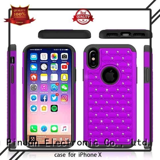 phone shining clear iphone x case PinJun Electronic