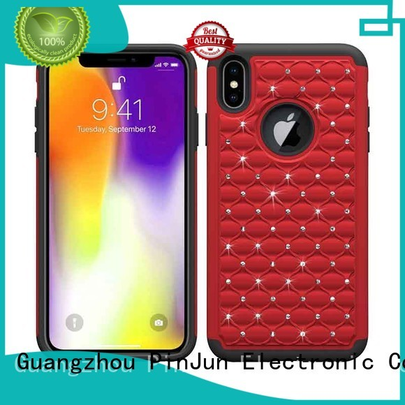 heavy carbon PinJun Electronic Brand iphone xs max cover