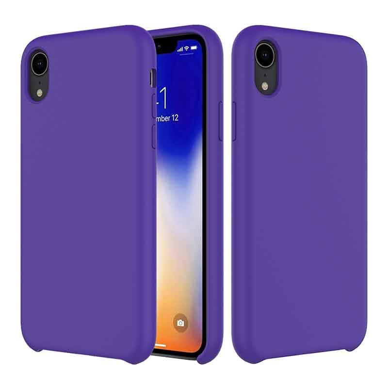 PinJun Electronic-iPhone XR Liquid Silicone Phone Case Shockproof Cell Case-2