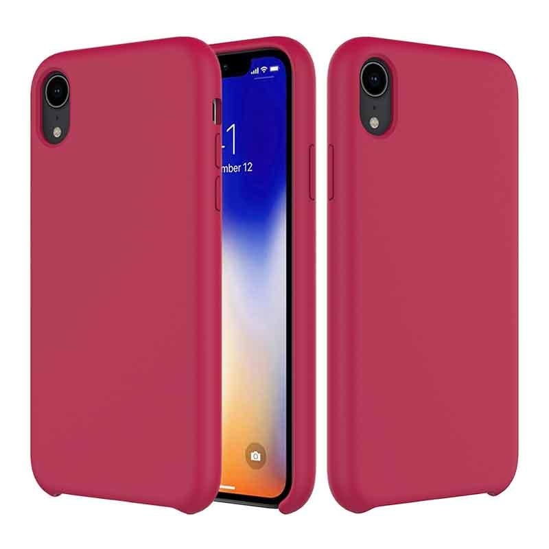 PinJun Electronic-iPhone XR Liquid Silicone Phone Case Shockproof Cell Case
