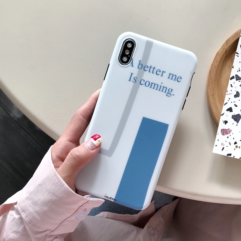 A Better Me is Coming IMD iPhone XS Matte Case PJA00025