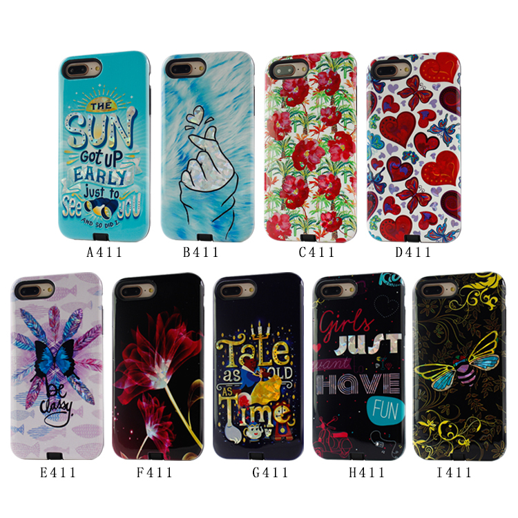 9 DIY Digital Printing Phone Case for iPhone 6/7/8Plus PJA00031