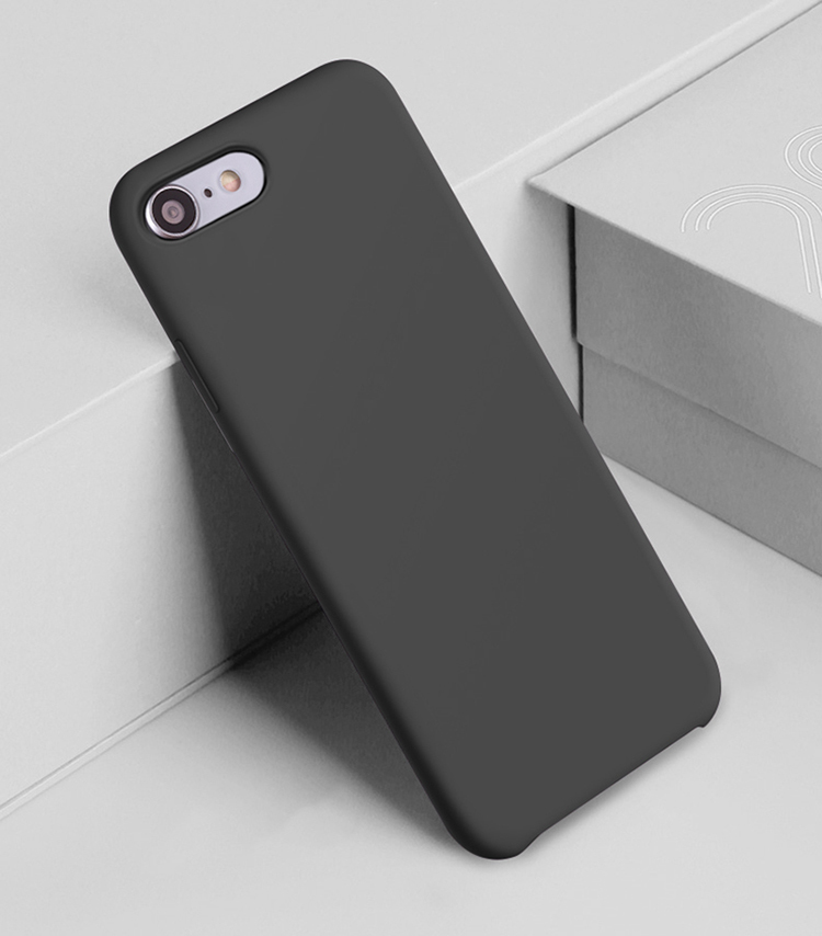 Wholesale TPE Liquid Silicone Case for iPhone 7/8 PJA00035