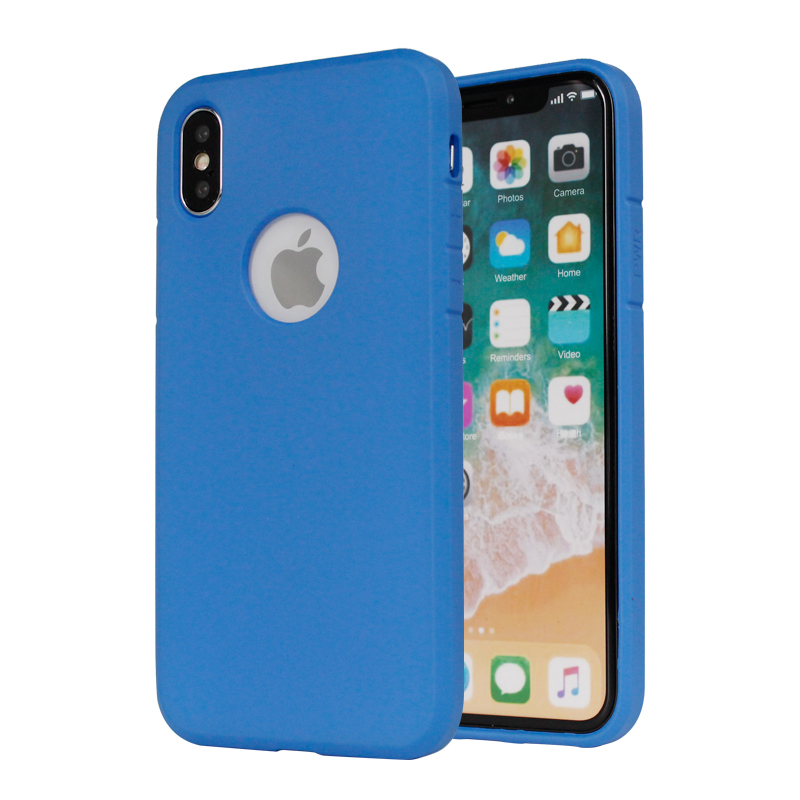 2.0MM Thickening Oil Painting TPU Case for iPhone X XS PJA00036
