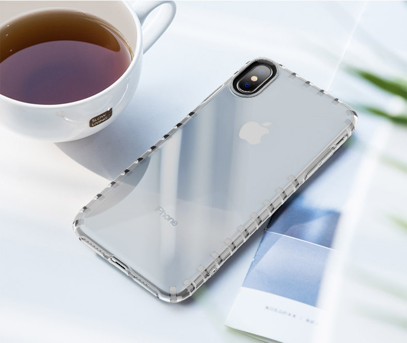 HD Transparent Airbag Drop-proof Phone Case for iPhone X XS Max PJA00040