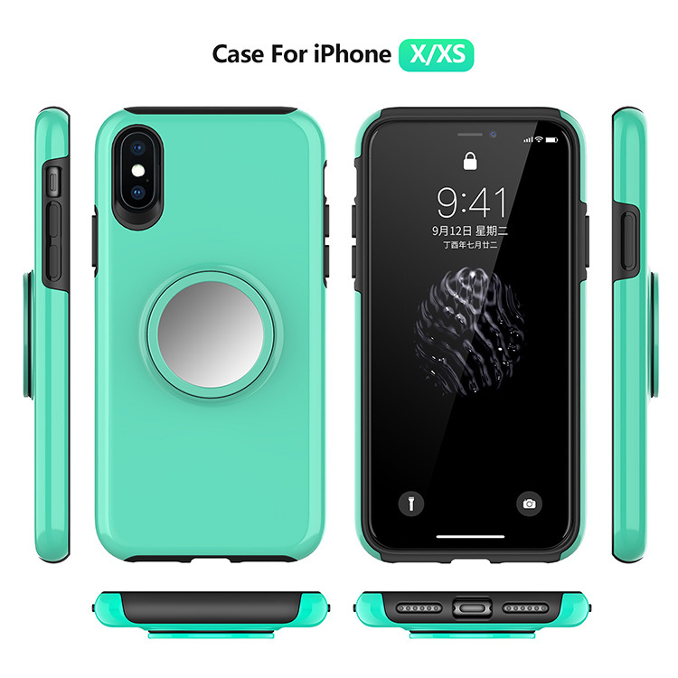 Protective Cover and Popsocket Integrated Mobile Phone Case PJA00041