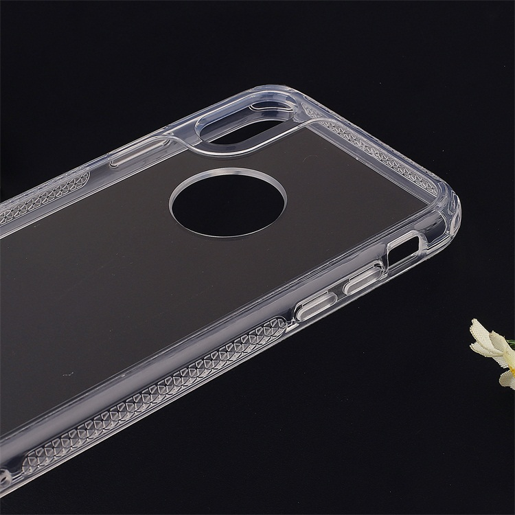 PinJun Electronic-Phone Case Tpu+high Clear Acrylic Hybrid Case For Smartphone-1