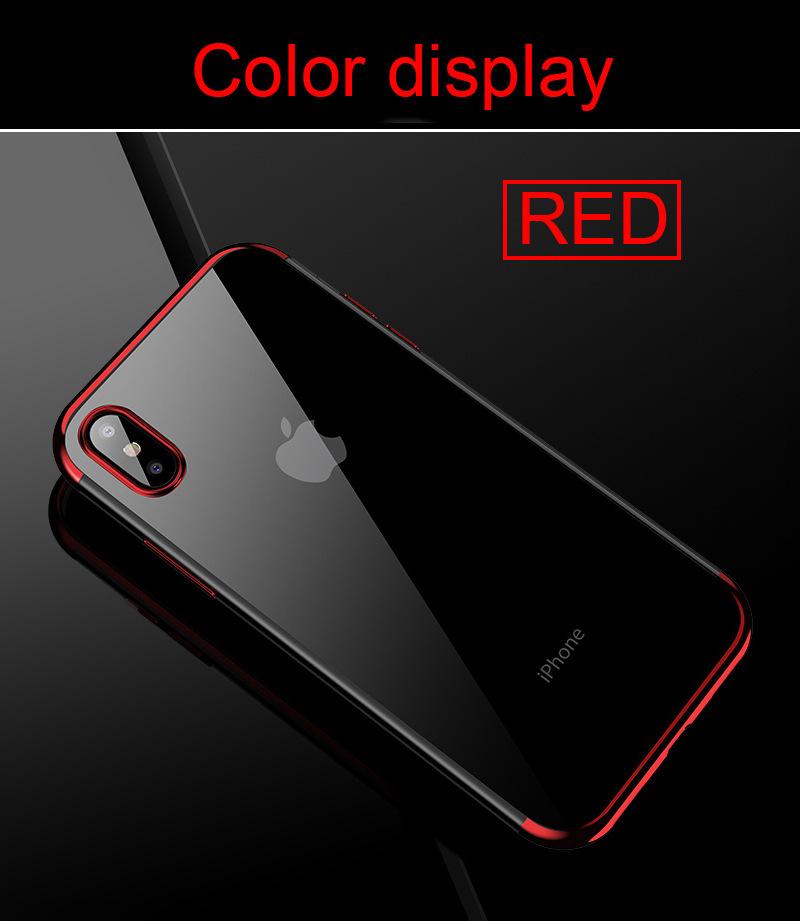 Electroplating Laser Engraving Mobile Phone Case PJA00044