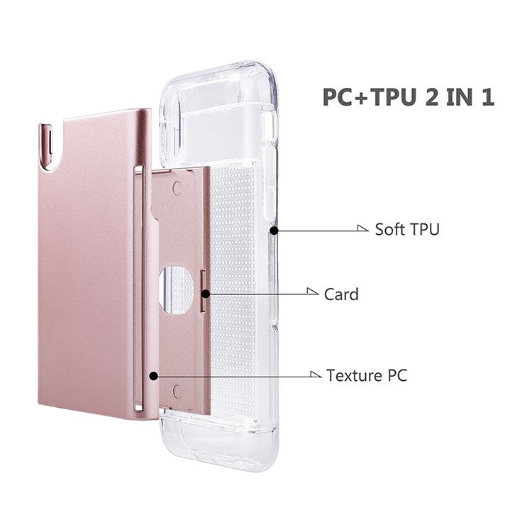 PinJun Electronic-High-quality Magnetic Phone Case | Card Storage Wallet Phone Case Pja00046