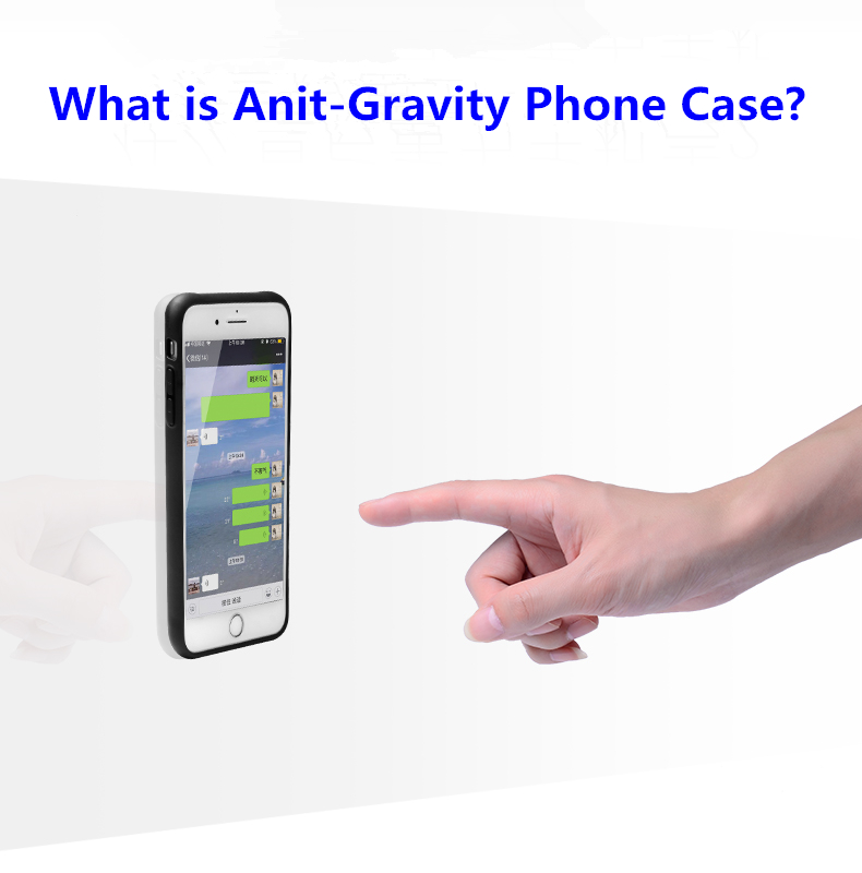 PinJun Electronic-Magnetic Case | Anti-gravity Nano Adsorption Mobile Phone Case
