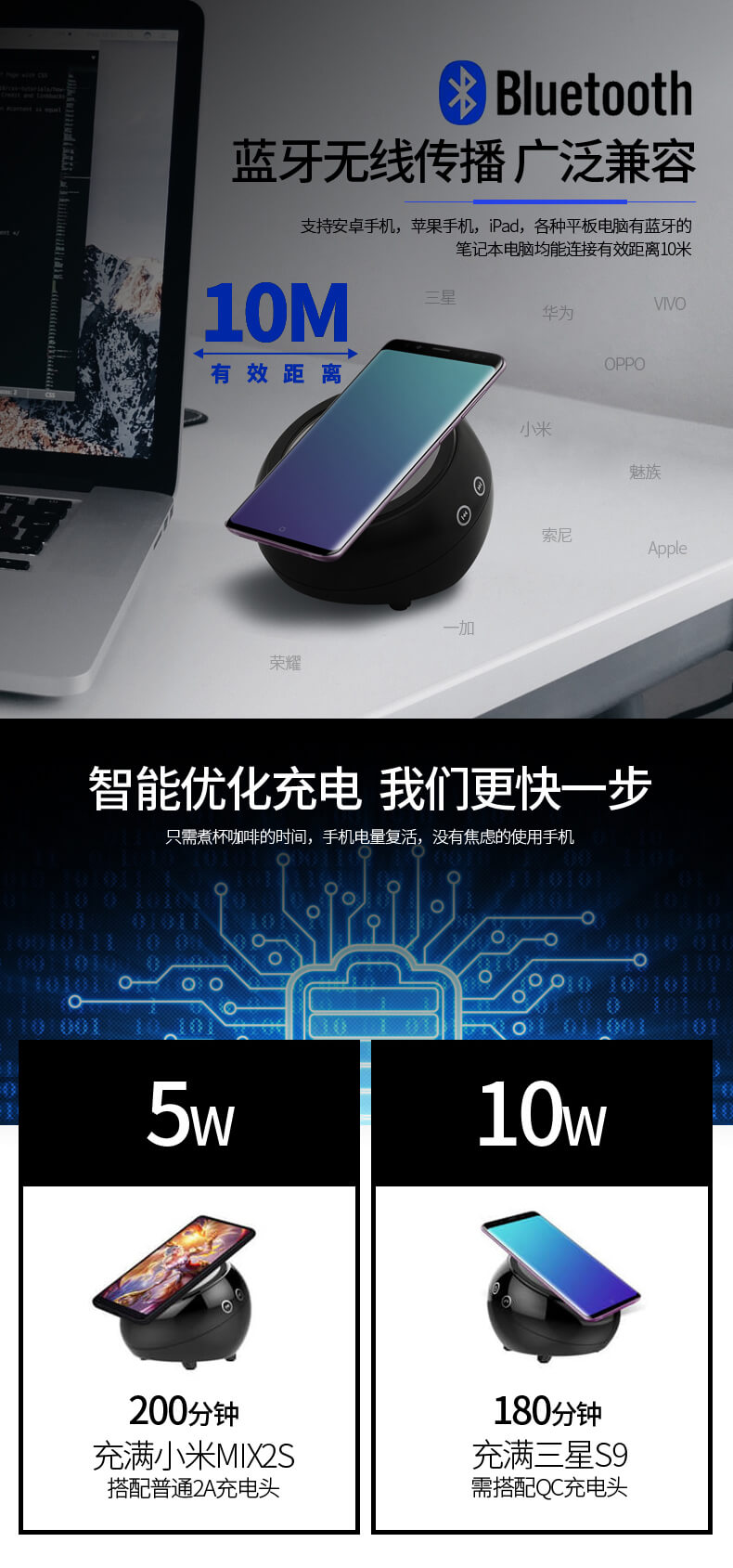 PinJun Electronic-Oem Wireless Charger Iphone Manufacturer | Wireless Charger-2