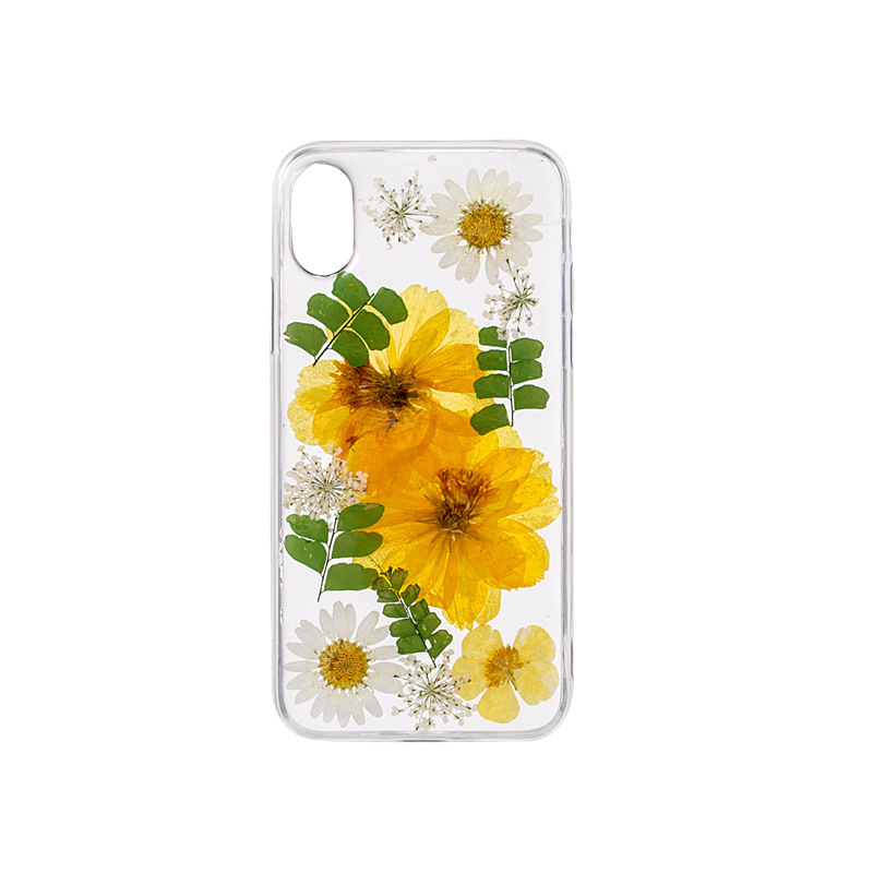 Handmade Real Dry Flower Phone Case PJA00051