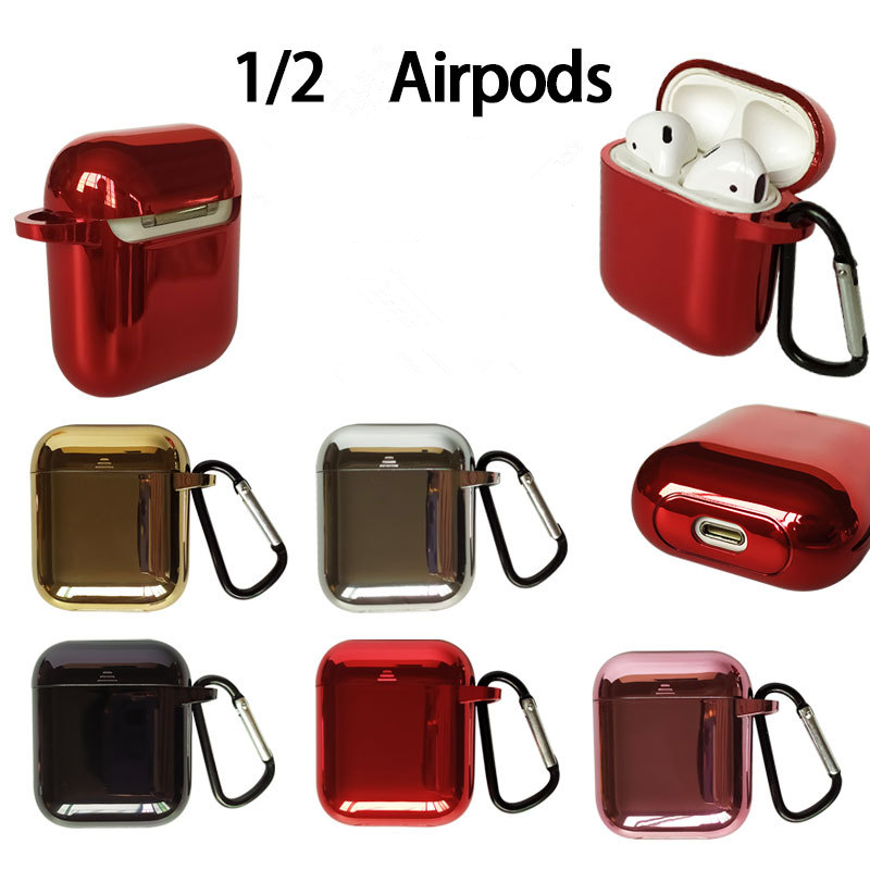 Electroplating AirPods TPU/PC Case